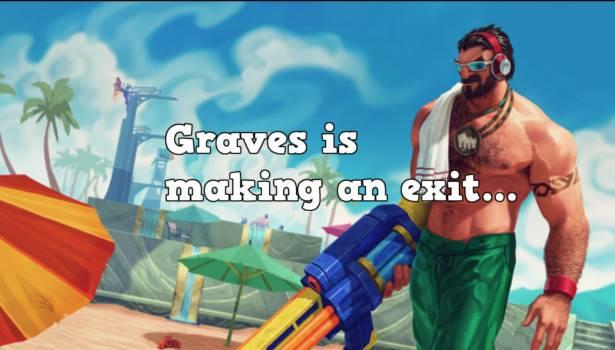 graves entkommt