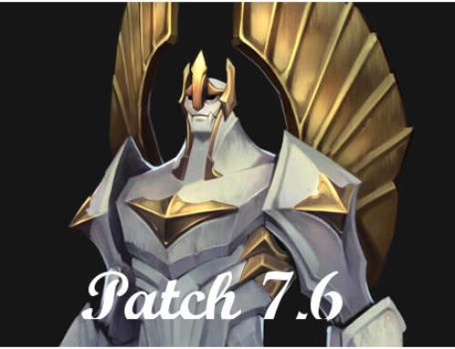 Patch 7.6 – Der neue Galio ab sofort live!