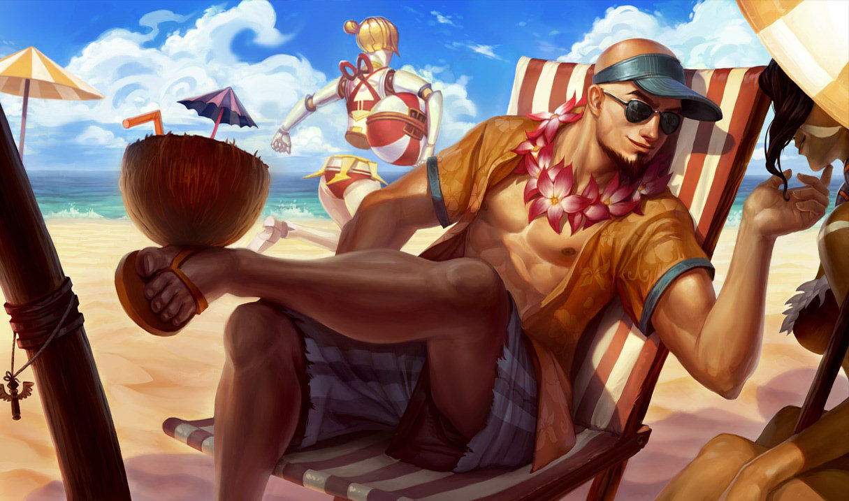 Poolparty-Lee Sin