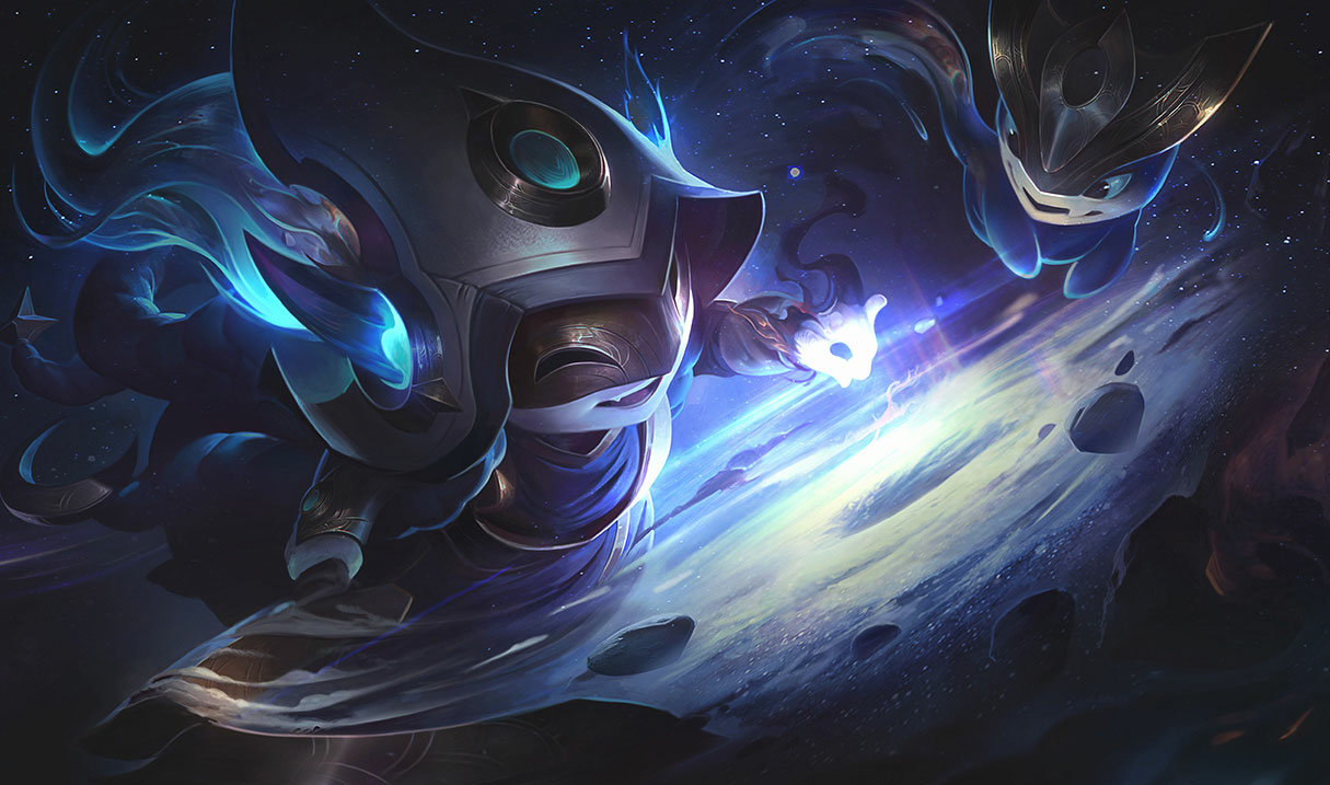 Kosmische Zauberin Lulu