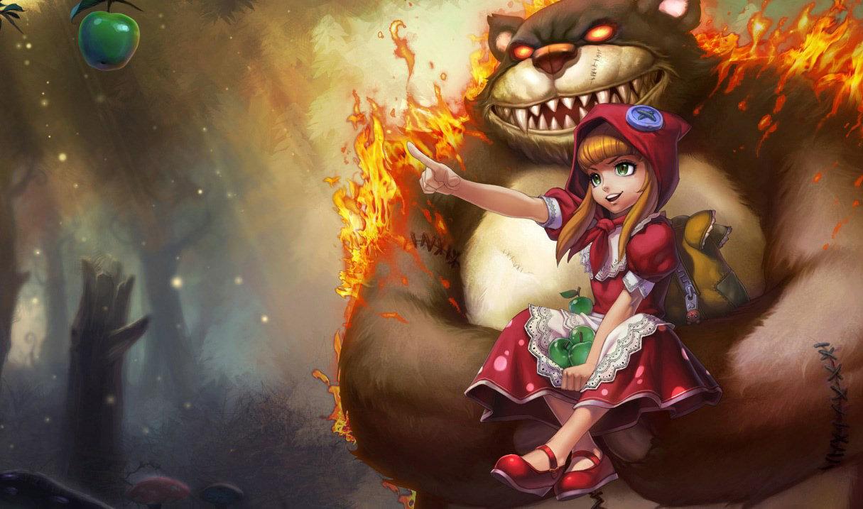 Rotkäppchen-Annie
