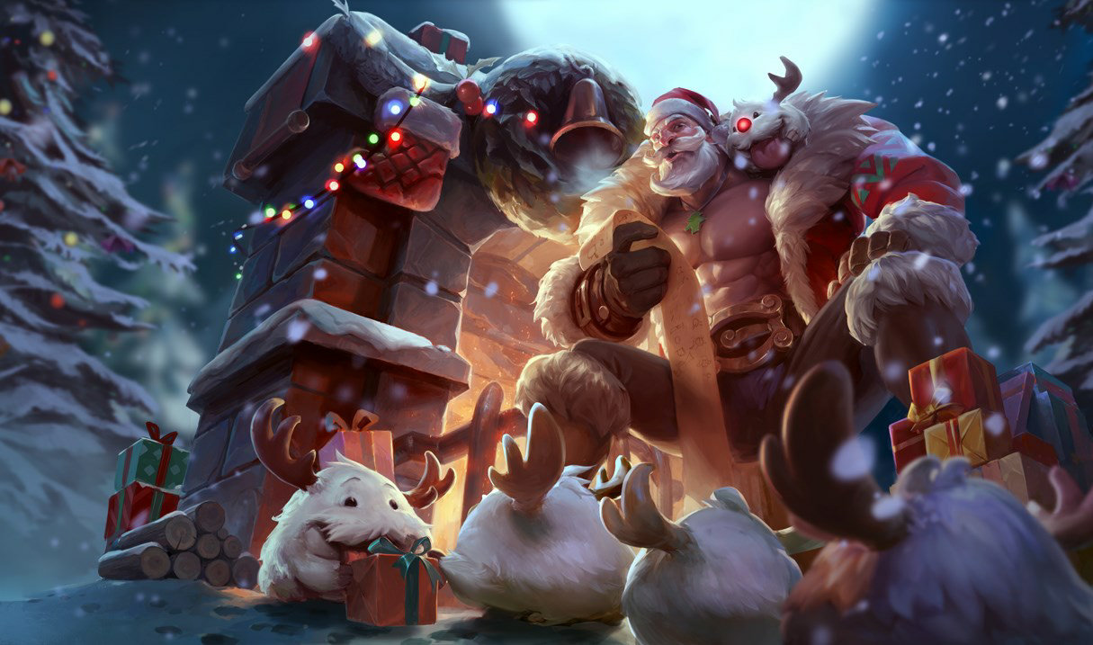 Weihnachts-Braum