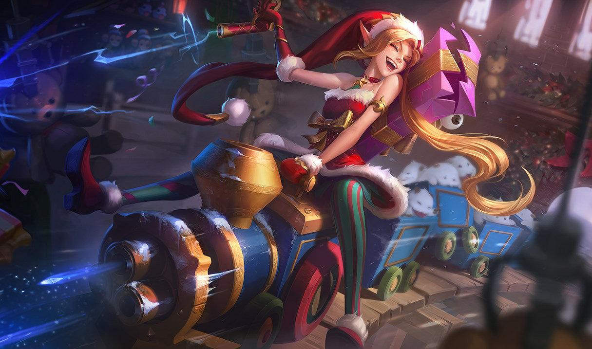 Ehrgeizige Weihnachtselfe Jinx