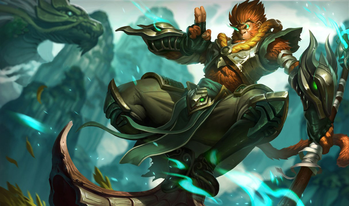 Jadedrachen-Wukong