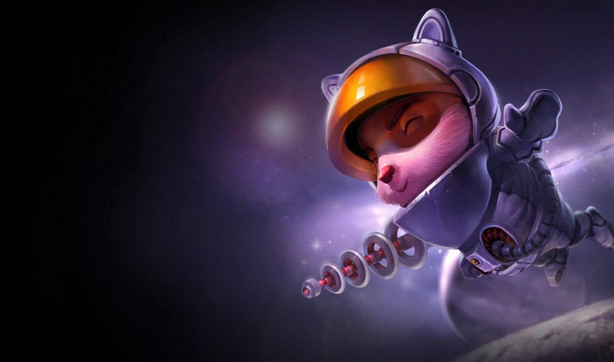 Astronauten-Teemo