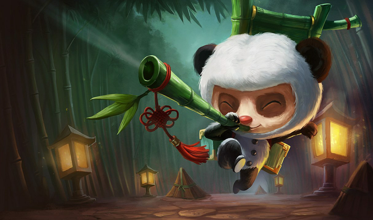 Panda-Teemo