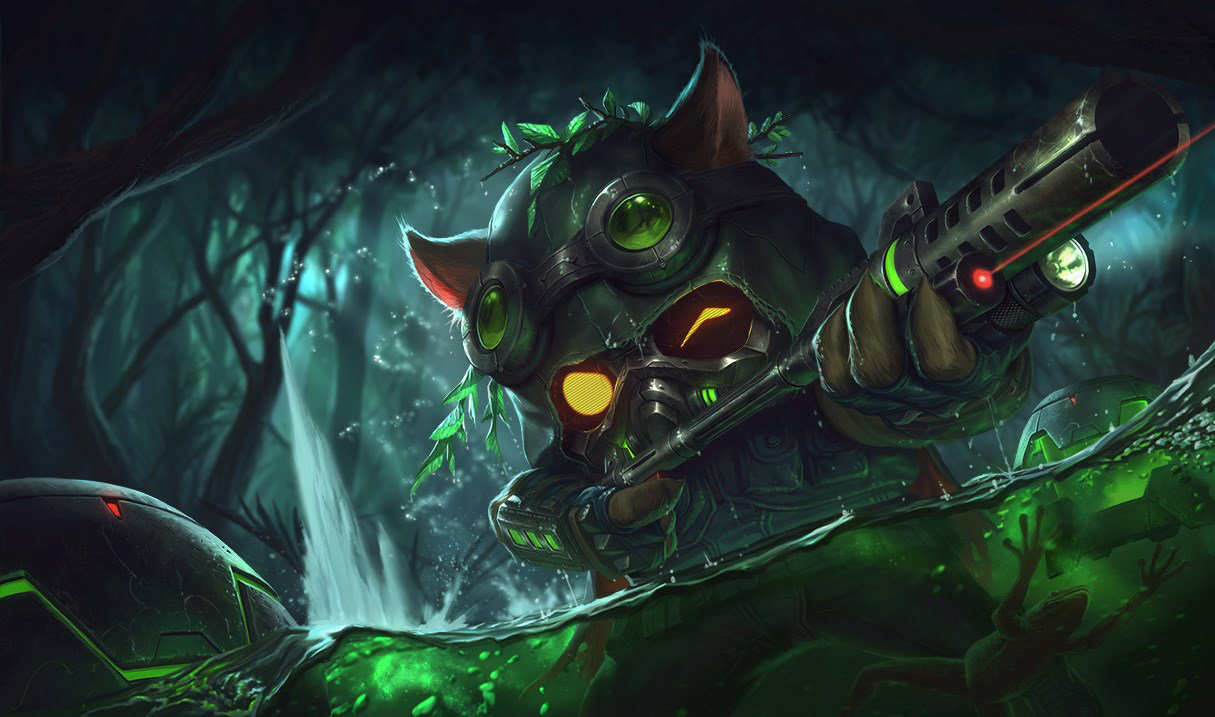 Omegatrupp-Teemo