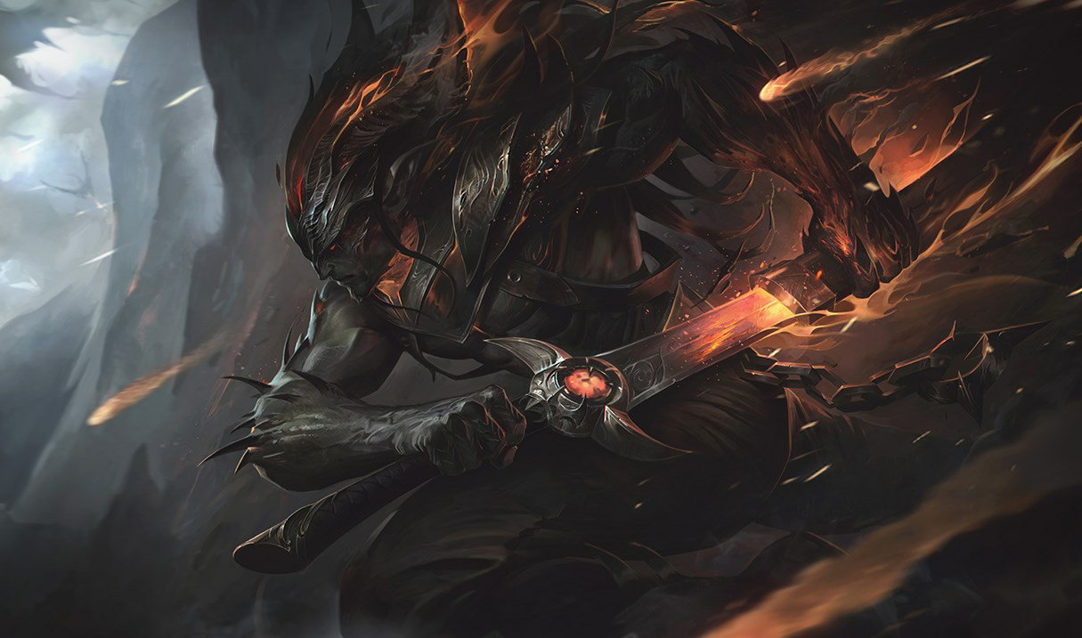 Flammende Finsternis Yasuo