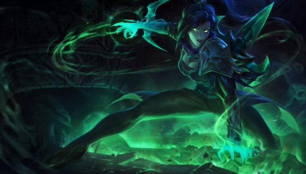 Seelenstehler Vayne Splash Art Lol Champion