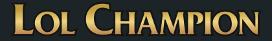 LoLChampion Logo